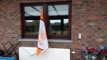 De 1000 km vlag is ook van de partij