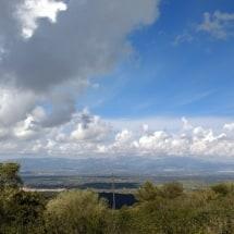Uitzicht van op de top