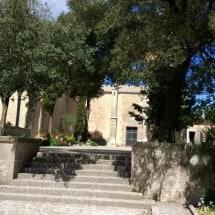 Het klooster op de top