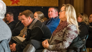 Whiteclay beer store owners listen to testimony at the Jan. 5th Nebraska Liquor Control Commission hearing.