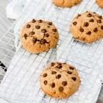 Cookies van amandelmeel