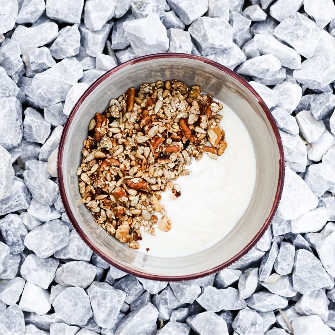 Huisgemaakte vegan granola