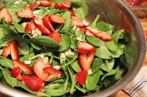 We cannot wait for our strawberries to be in season so we can make this!
