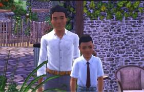 Jasper and Lucas Adams