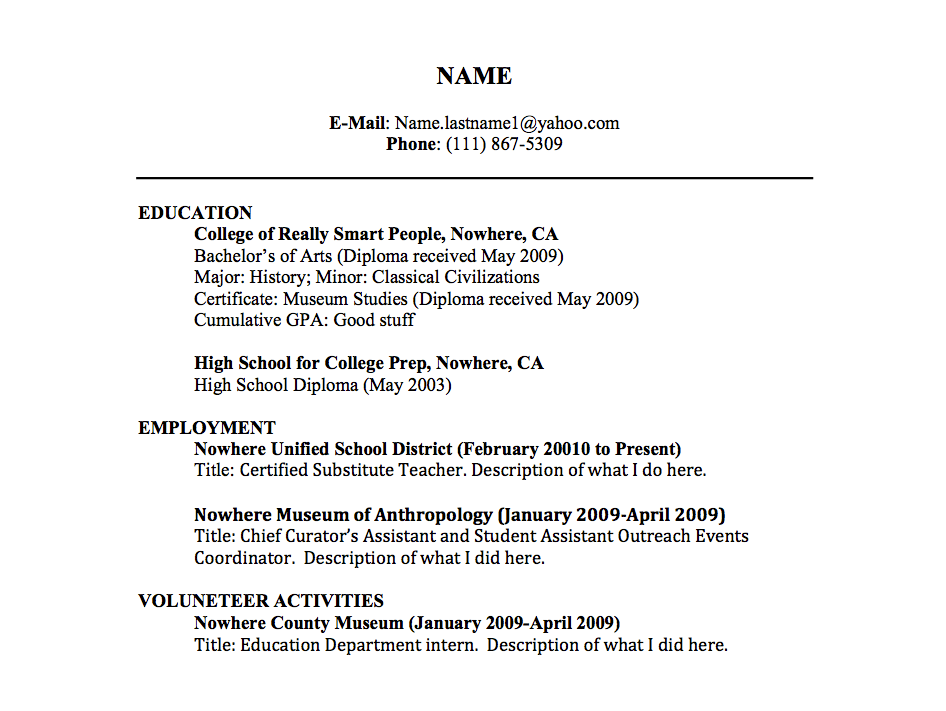 great resume titles examples best resume title examples good