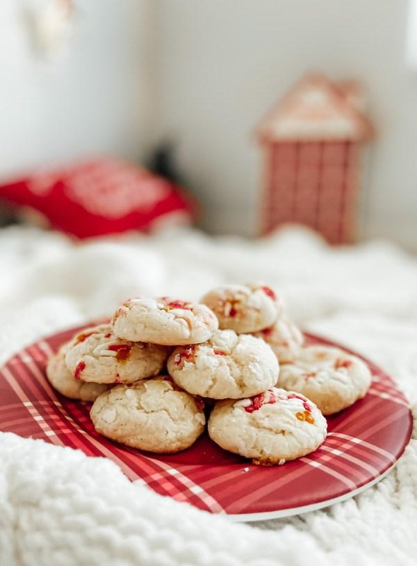 Christmas Ooey Gooey Butter Cookies