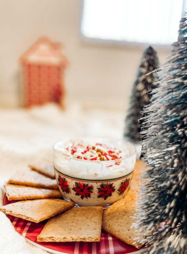 Christmas Sugar Cookie Dip