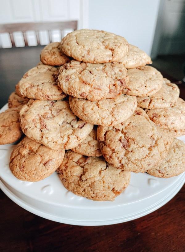 Favorite Heath Bar Cookies
