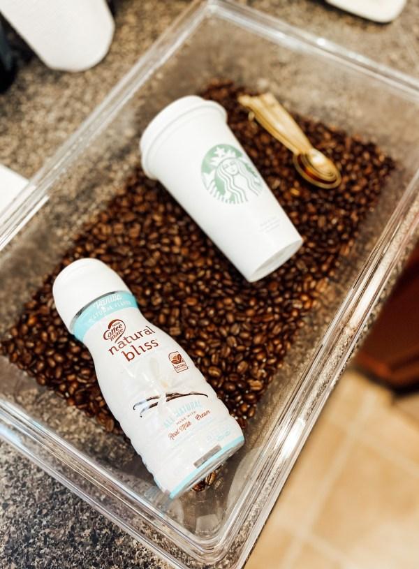 Coffee Time Sensory Bin
