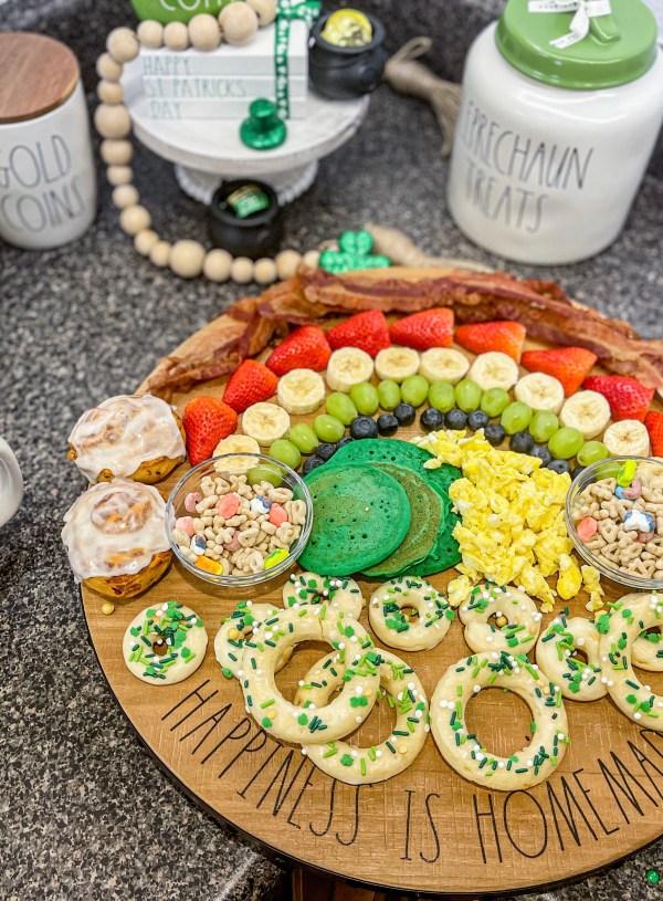 Lucky Leprechaun Breakfast Charcuterie Board