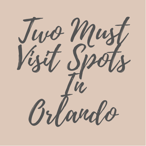 Two Must Visit Photo Spots in Orlando