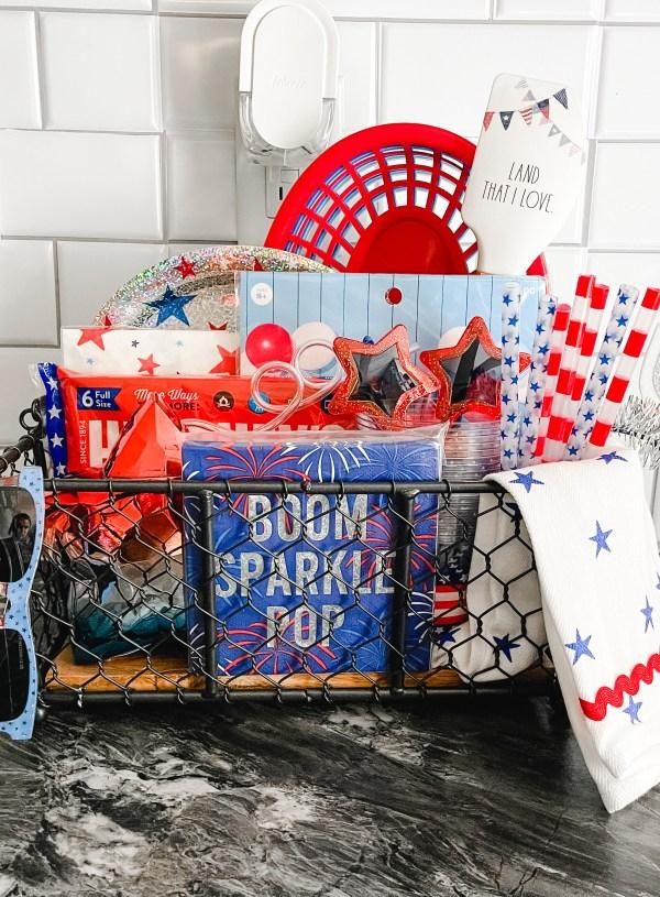 Ocassion Basket – Fourth of July