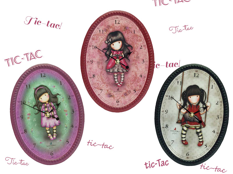 Relojes Gorjuss De Pared KimondoShop