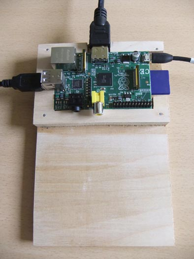 Prototype Raspberry Pi development board