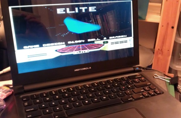 Arc Elite running on the Raspberry Pi