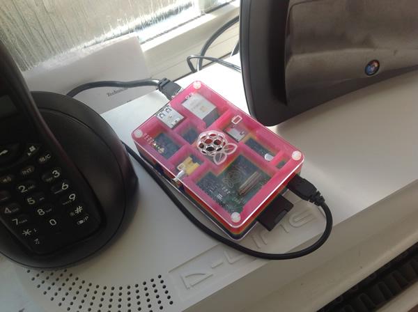 Raspberry Pi running as an Adblock for iOS