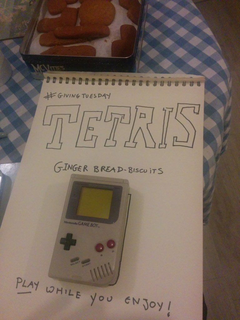 Gingerbread Tetris