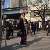 着物でお出かけ  @東銀座・新歌舞伎座〜有楽町