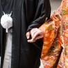 結婚式に着ていく着物。