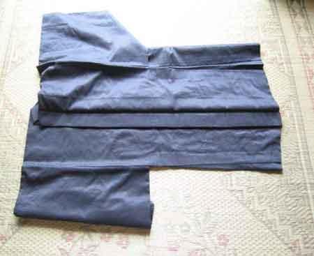 羽織のたたみ方 その2