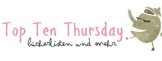Top Ten Thursday - Bücherlisten und mehr
