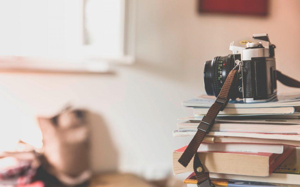 Bookstack & Camera