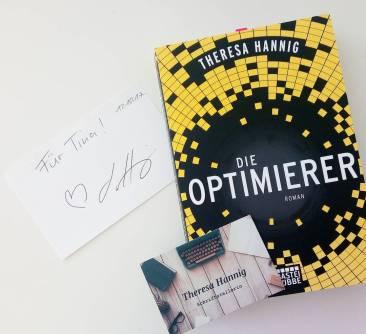 """""""Die Optimierer"""" und eine Signatur von Theresa Hannig!"""