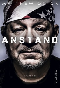 Matthew Quick, Anstand Cover