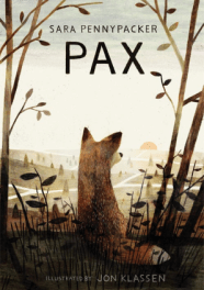 Sara Pennypacker, Pax Cover