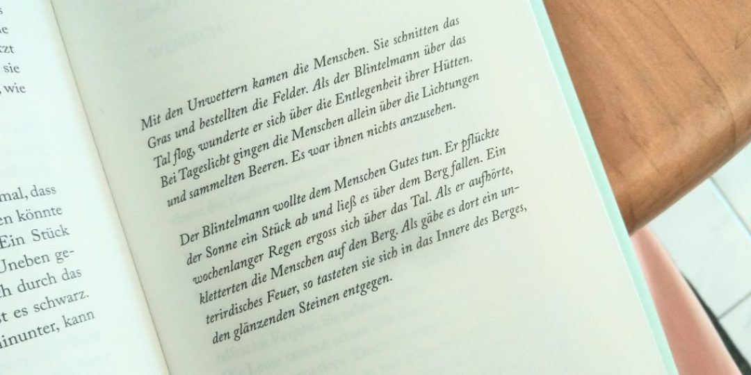 """Marie Gamillscheg, """"Alles was glänzt"""", Die Legende vom Blintelmann"""