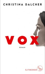 Christina Dalcher, Vox Cover