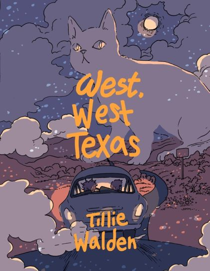 Tillie Walden, West, West Texas Cover