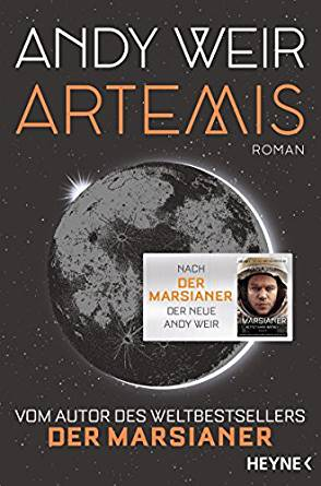 Andy Weir, Artemis Cover