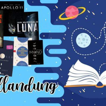 50 Jahre Mondlandung – Bücher zum Jubiläum