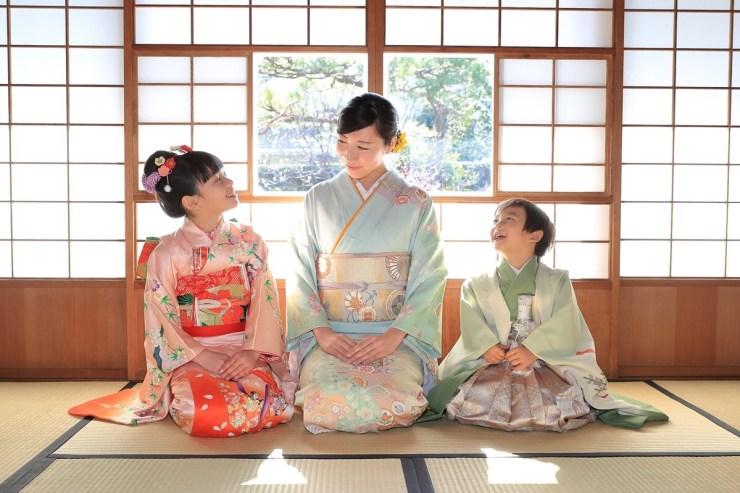 鎌倉七五三写真