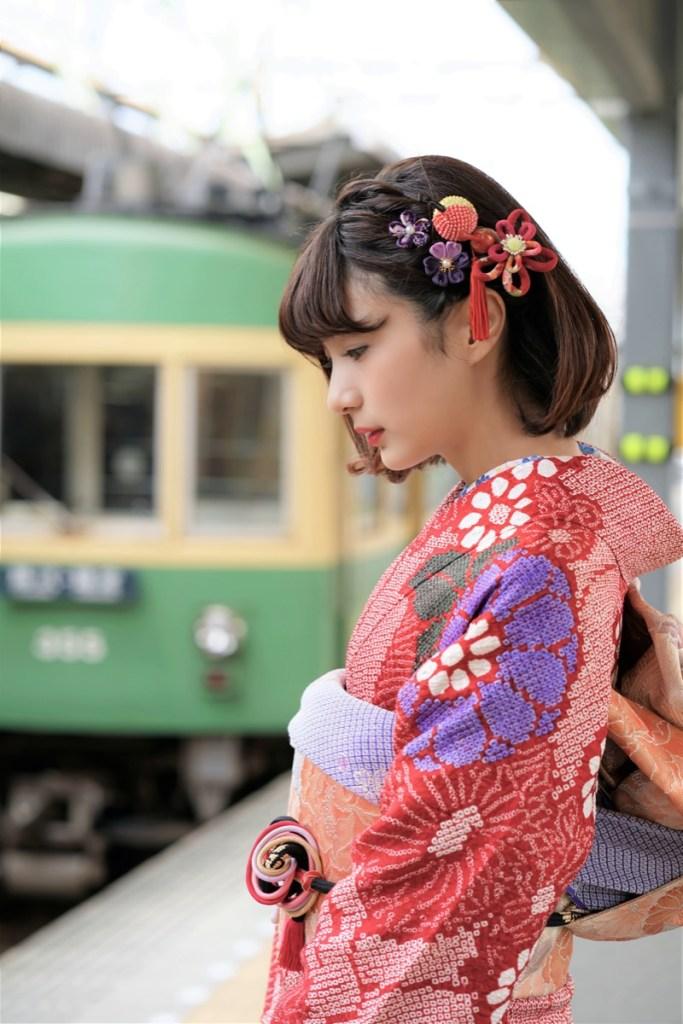 鎌倉花のん 振袖