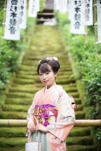 鎌倉 振袖 十三詣り