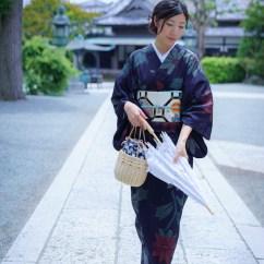 鎌倉花のん夏着物