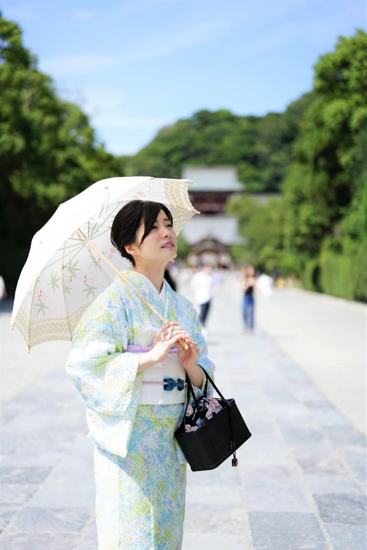 鎌倉 夏 レース着物 オリジナル