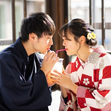 鎌倉着物レンタル花のん 記念写真