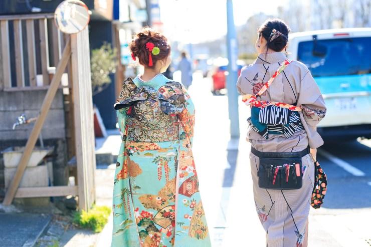 鎌倉花のん 振袖前撮り
