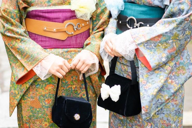 鎌倉花のん 秋の着物コーディネイト