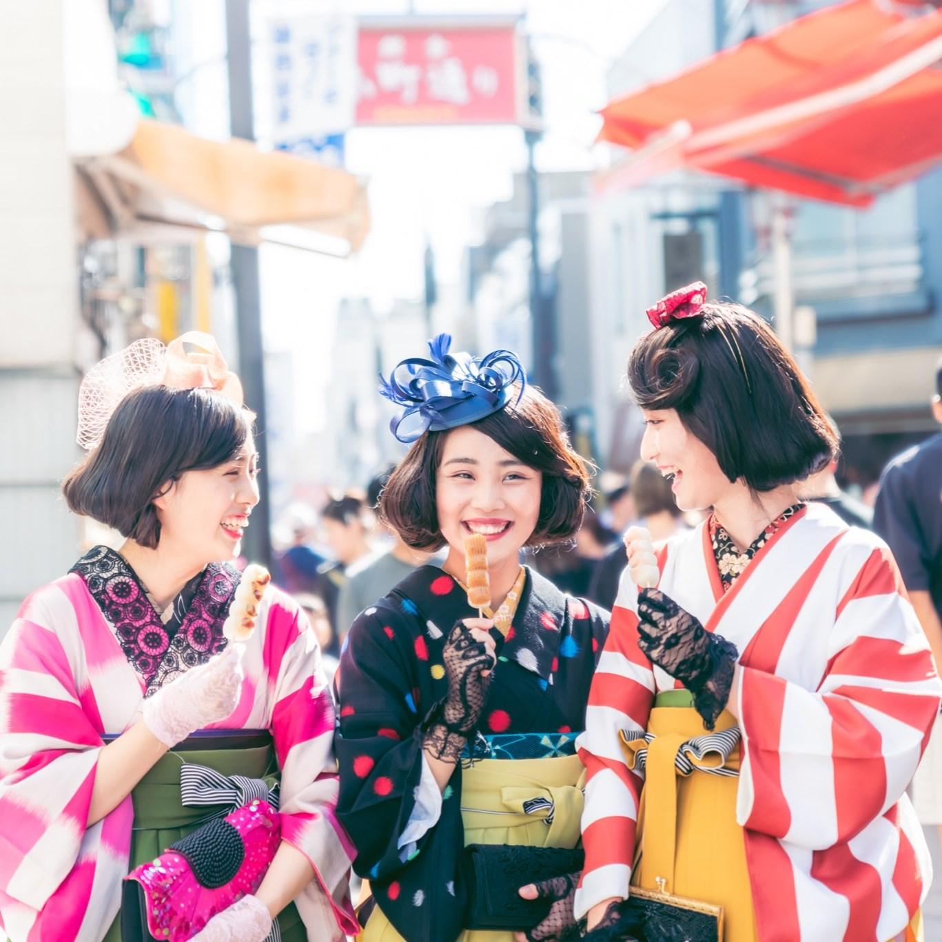 鎌倉着物レンタル花のん 袴モダン