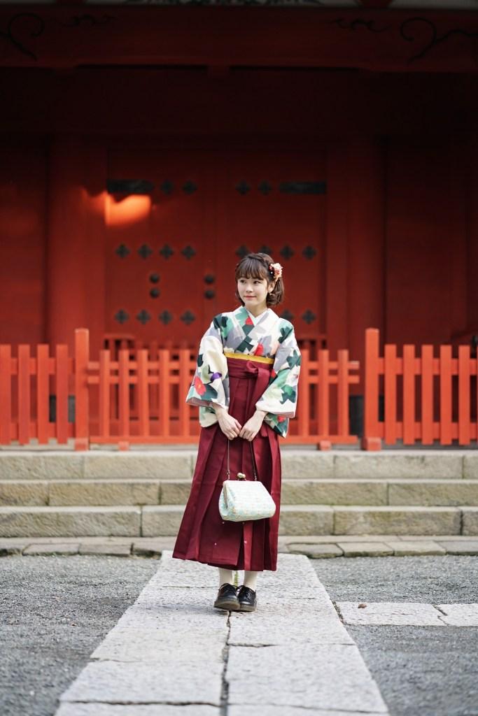 鎌倉花のん 袴スタイル