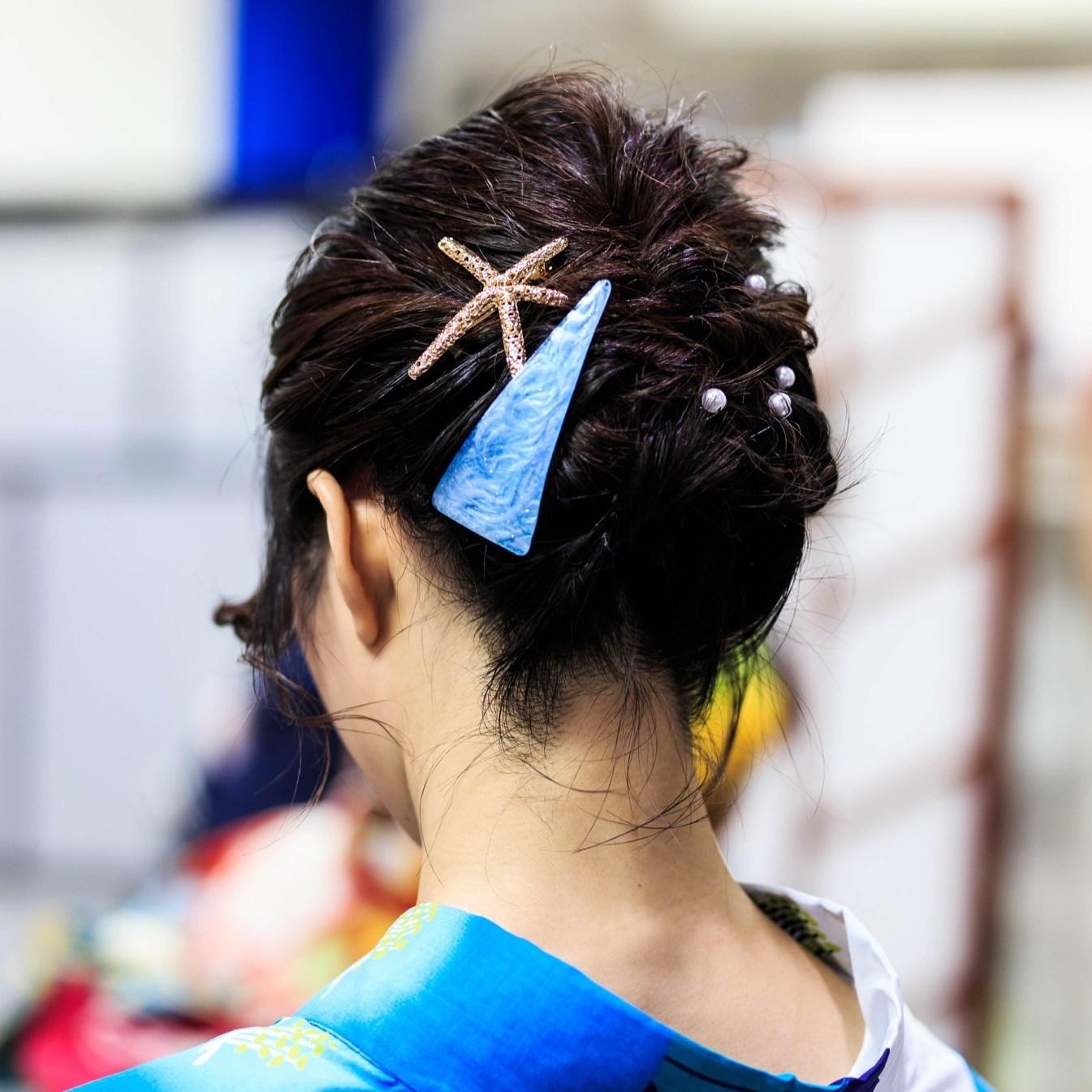 鎌倉着物レンタル花のん 浴衣 ヘアセット