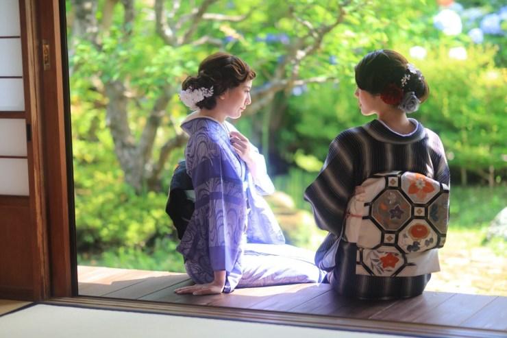 鎌倉花のん 夏着物 絽の着物 紗の着物