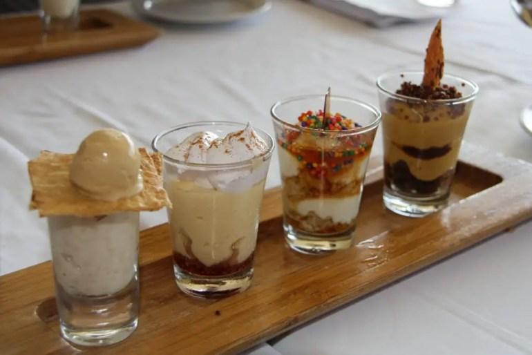 Dessert bij Huaca Pallaca