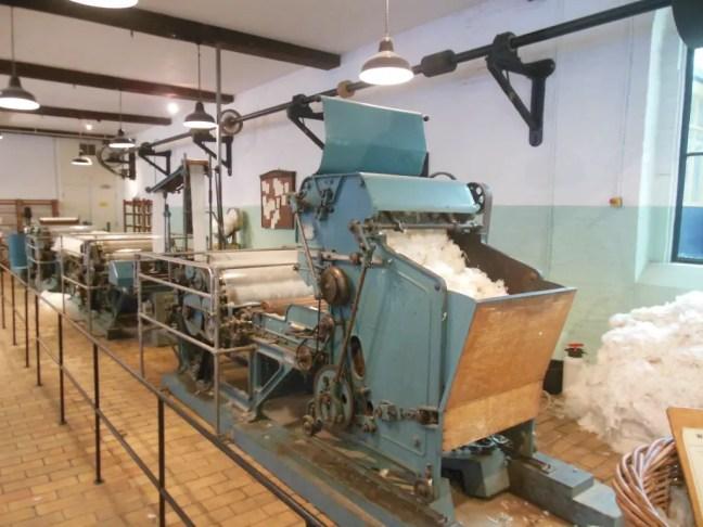 TextielMuseum Tilburg wol