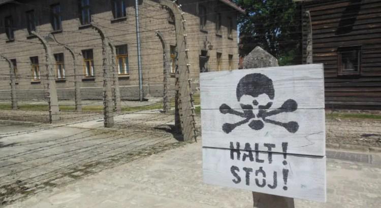 Halt bij Auschwitz