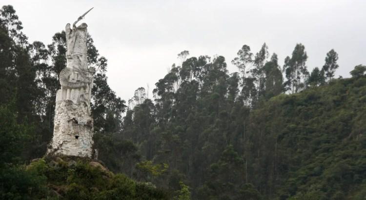 beeld santuario de las lajas colombia